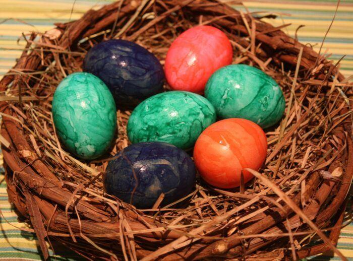 Wielkanocne jajko pod lupą