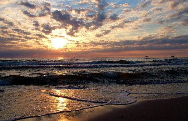 Niemcy chętnie spędzają wakacje nad polskim morzem