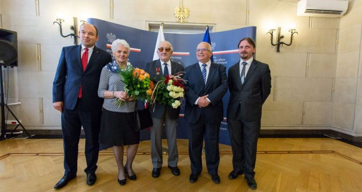 Karol Tendera uhonorowany odznaką Bene Merito