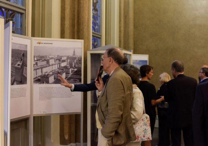 Otwarcie wystawy w berlińskim Ratuszu