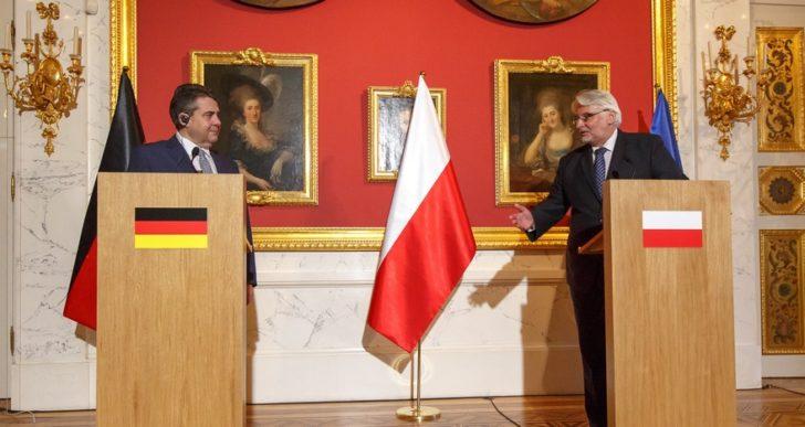 Ministrowie Polski i Niemiec spotkali się w Warszawie